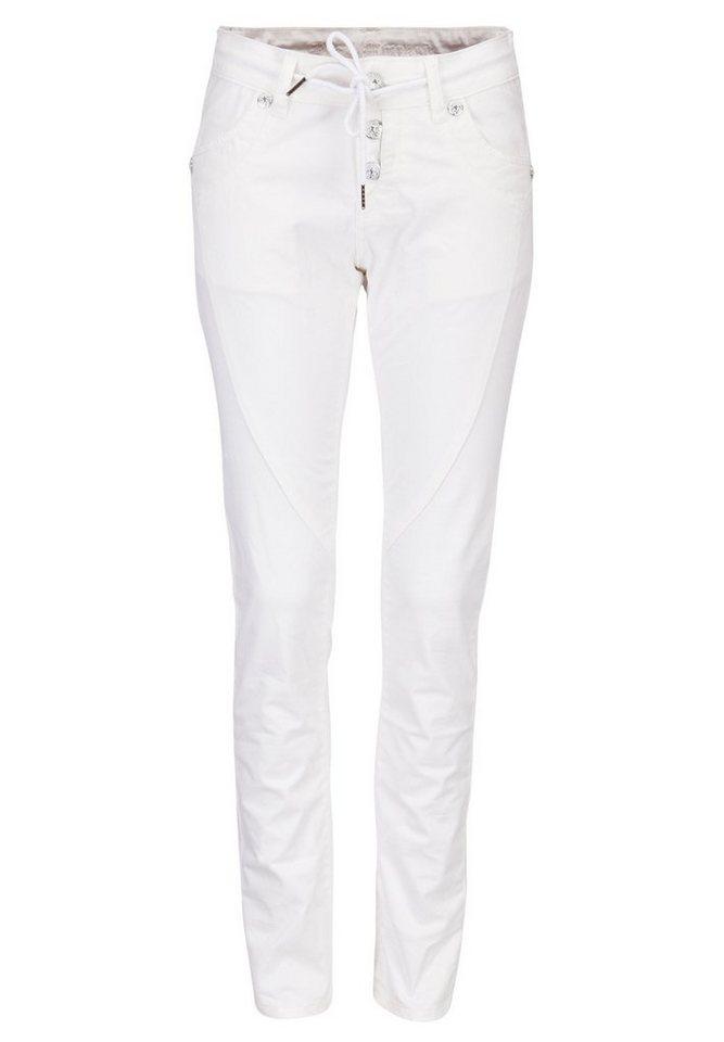 Blue Monkey Skinny-fit-Jeans »Cassy 3515« in weiß