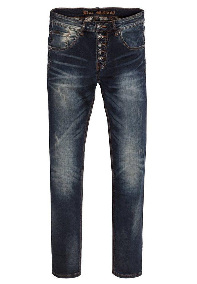 Blue Monkey 5-Pocket-Jeans »Alex 4186« in blau