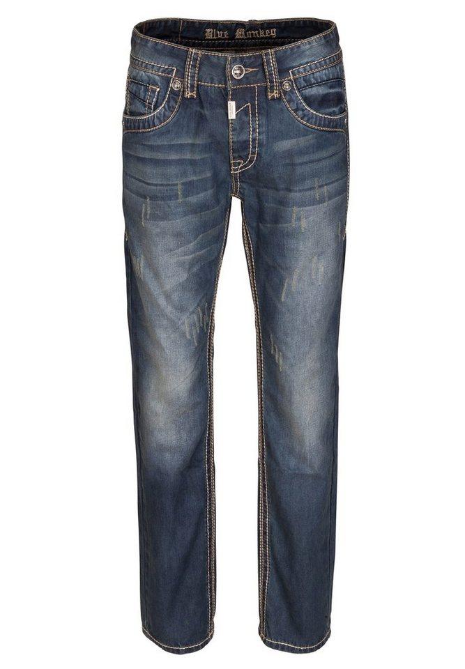 Blue Monkey 5-Pocket-Jeans »Brad 4257« in blau