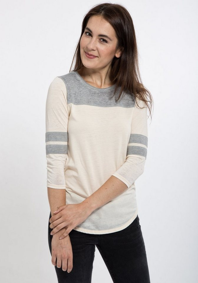 Mexx 3/4-Arm-Shirt in apricot