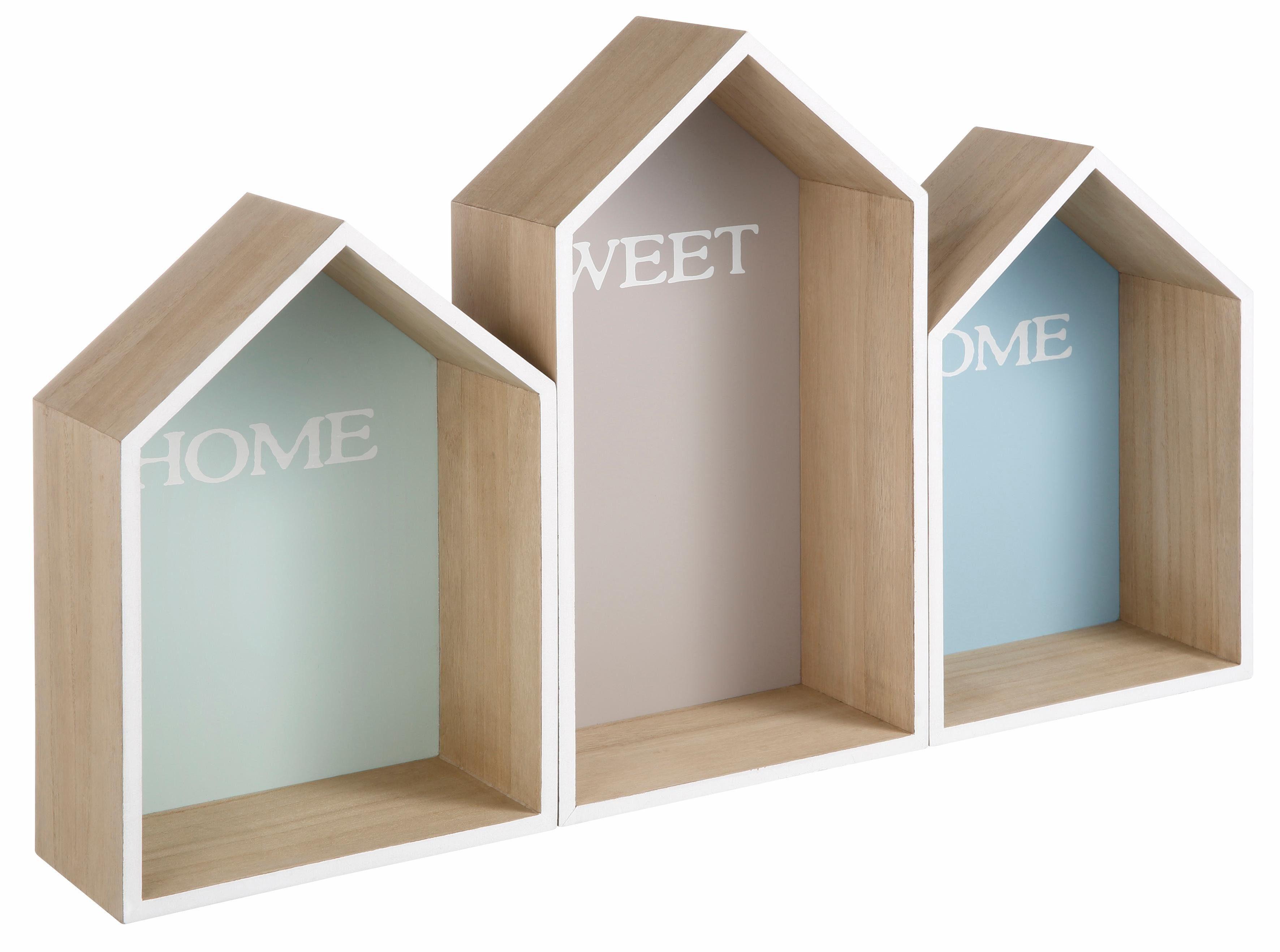 Home affaire Wandkasten »Häuser«
