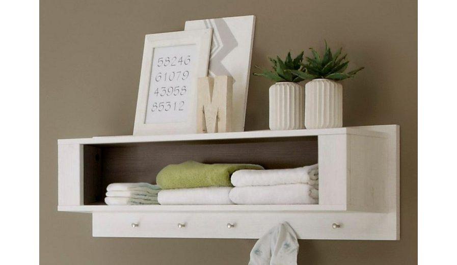 Wandregal passend zur Babymöbel Serie »Landhaus« in pinie NB/weiß