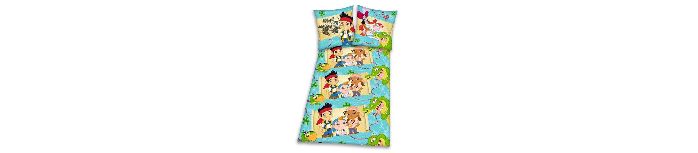 Bettwäsche, Jake und die Nimmerlandpiraten, »Schatzkarte«, mit coolen Figuren