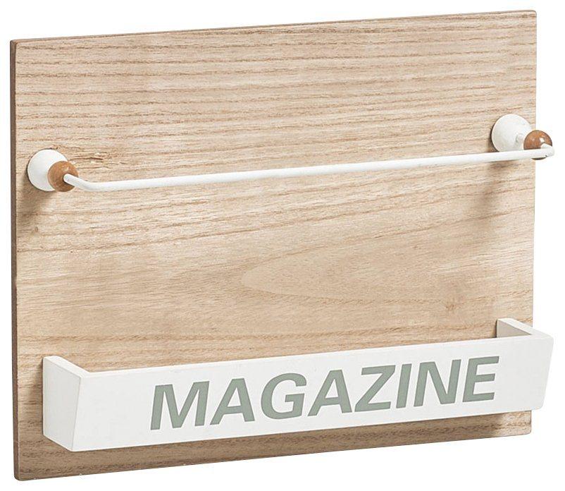 Magazinhalter »Nordic, 32x7,1x25 cm, zum aufhängen« in braun