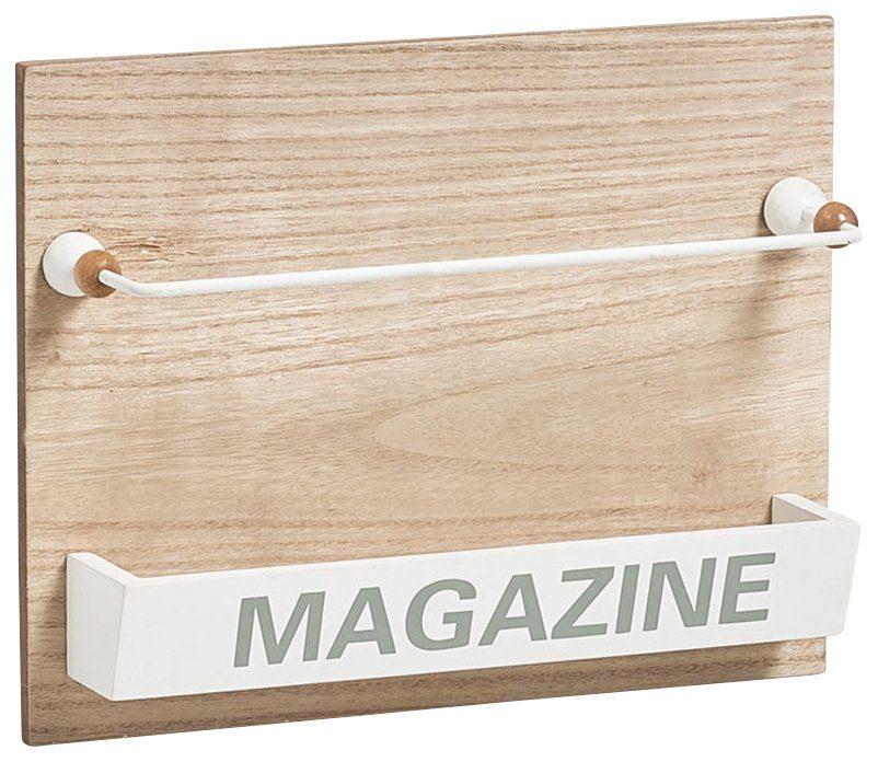 Zeller Magazinhalter »Nordic, 32x7,1x25 cm, zum aufhängen«
