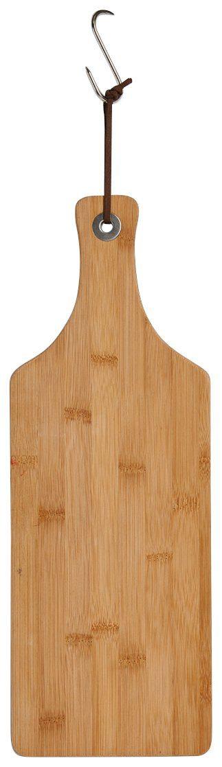 Schneide-/Servierbrett »Bamboo« mit Griff, schmal, Breite 44,5 cm