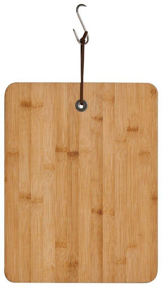 Schneide-/Servierbrett »Bamboo«, Breite 36,5 cm in braun
