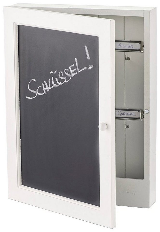 Schlüsselkasten »Tafel«, 22x5x30 cm in schwarz