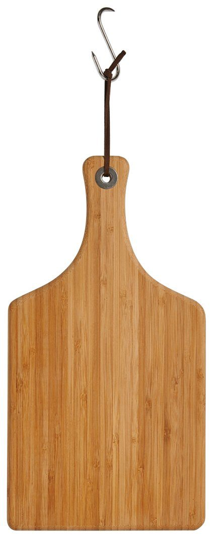 Schneide-/Servierbrett »Bamboo« mit Griff, Breite 37,5 cm