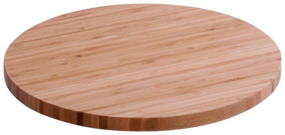 Drehkabinett »Bamboo, Ø35 cm« in braun