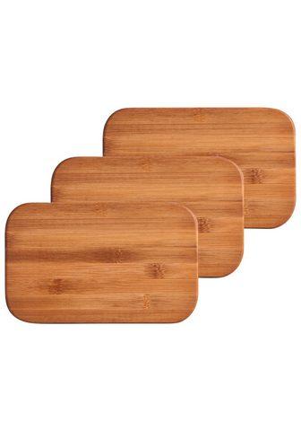 ZELLER PRESENT Zeller Pjaustymo lentelės »Bamboo« 3 v...