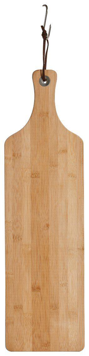 Schneide-/Servierbrett »Bamboo« mit Griff, schmal, Breite 57 cm