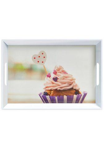 ZELLER PRESENT Zeller Padėklas »Cupcake«