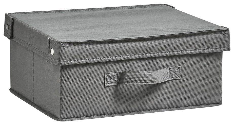 Aufbewahrungsbox »Faltbar«, Maße 33x28x15 in grau
