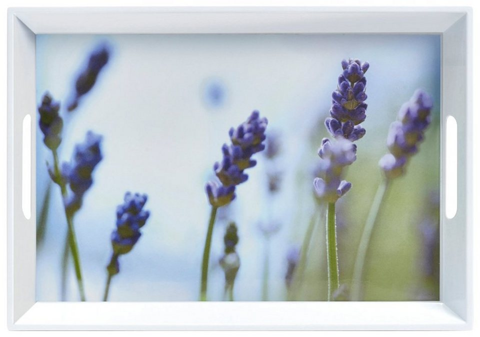 Tablett »Lavendel« in bunt