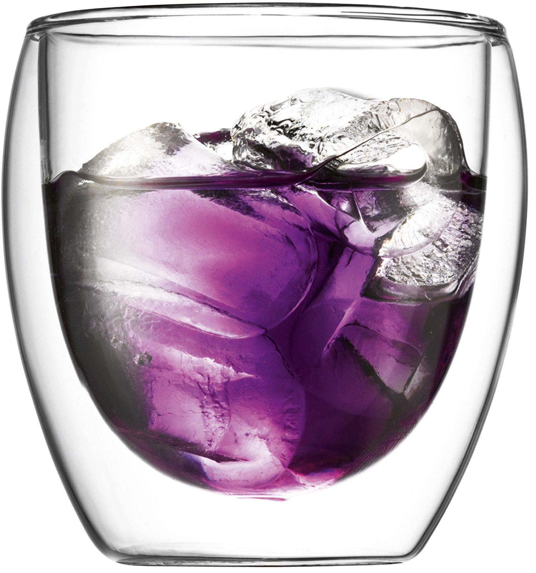 bodum® Glas, 2 Stück, doppelwandig, »PAVINA«