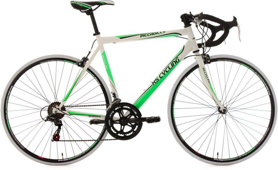KS Cycling Rennrad, 28 Zoll, 14-Gang-Shimano