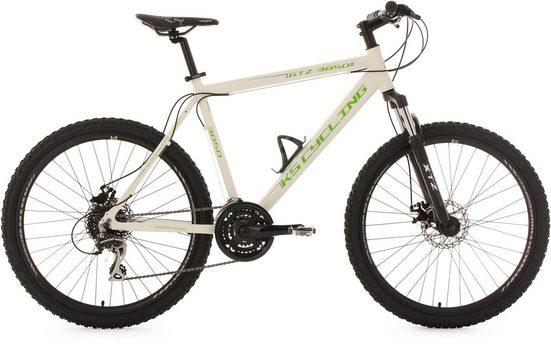 KS Cycling Mountainbike »GTZ«, 24 Gang Shimano Acera Schaltwerk, Kettenschaltung
