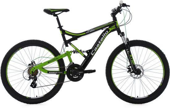 KS Cycling Mountainbike »Castello HTX«, 21 Gang Shimano Altus Schaltwerk, Kettenschaltung