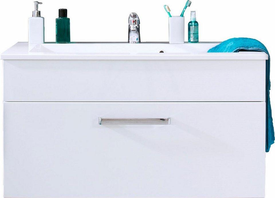 Welltime Waschtisch »Adamo« in weiß/weiß HG