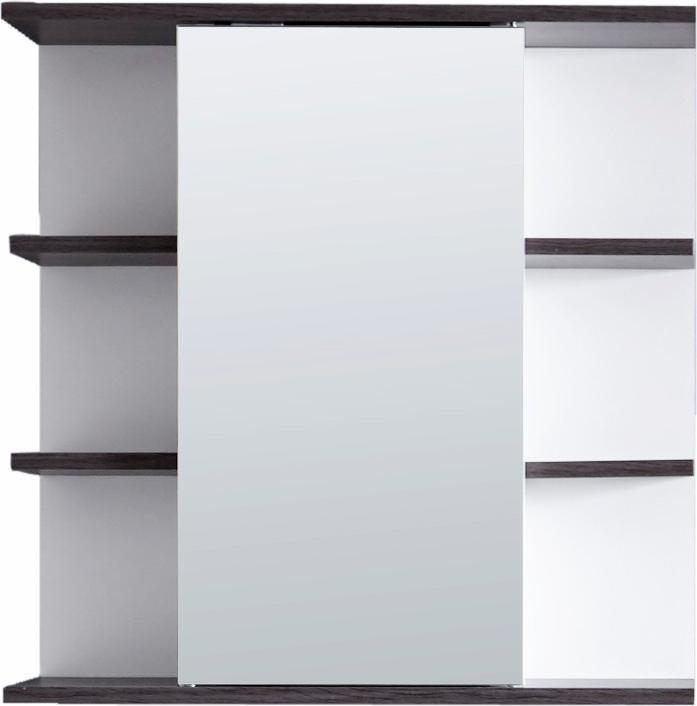 Welltime Spiegelschrank »San Diego« in weiß/rauchsilberfarben