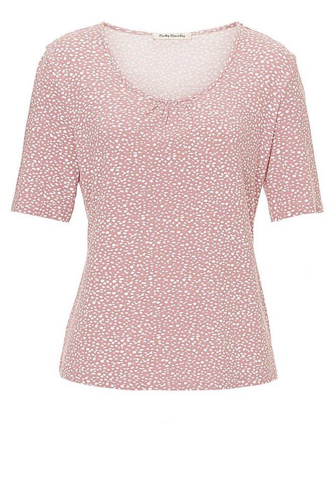 Betty Barclay Shirt in Rose/Cream - Rot