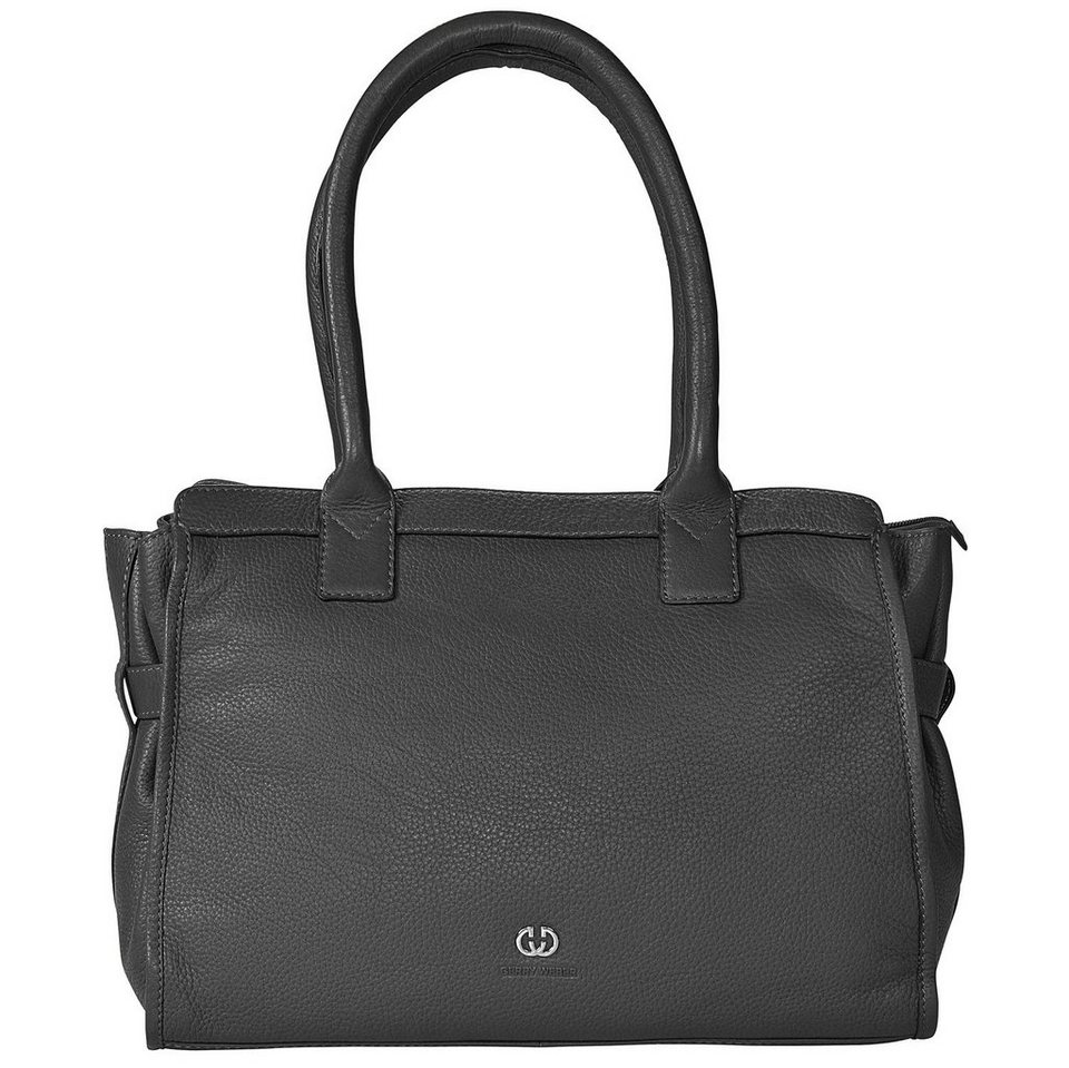 Gerry Weber Allora Shopper Leder 36 cm in black