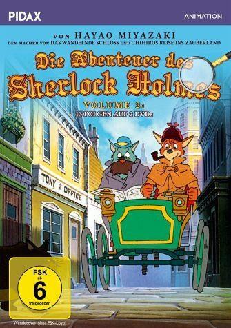 DVD »Die Abenteuer des Sherlock Holmes - Volume 2...«