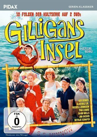 DVD »Gilligans Insel - 10 Folgen der Kultserie (2...«