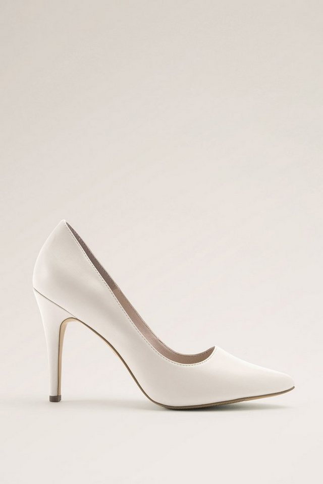 ESPRIT CASUAL Leder Fashion Pumps in ICE
