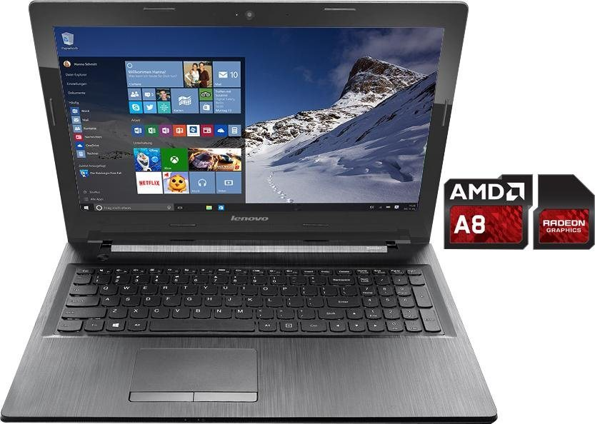 lenovo 80e3023bge notebook amd a8 39 6 cm 15 6 zoll. Black Bedroom Furniture Sets. Home Design Ideas