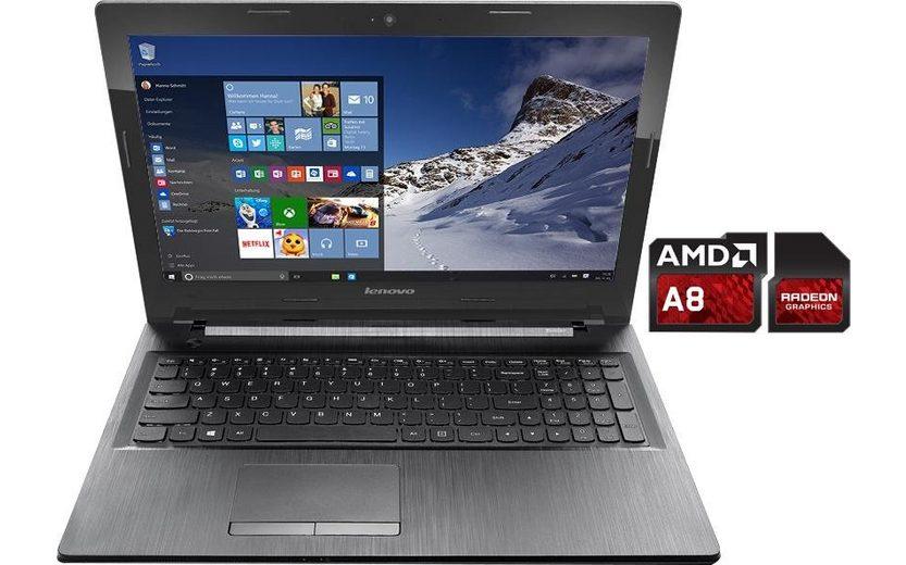 Lenovo 80E3023BGE Notebook, AMD A8, 39,6 cm (15,6 Zoll), 1000 GB Speicher, 16384 MB DDR3L