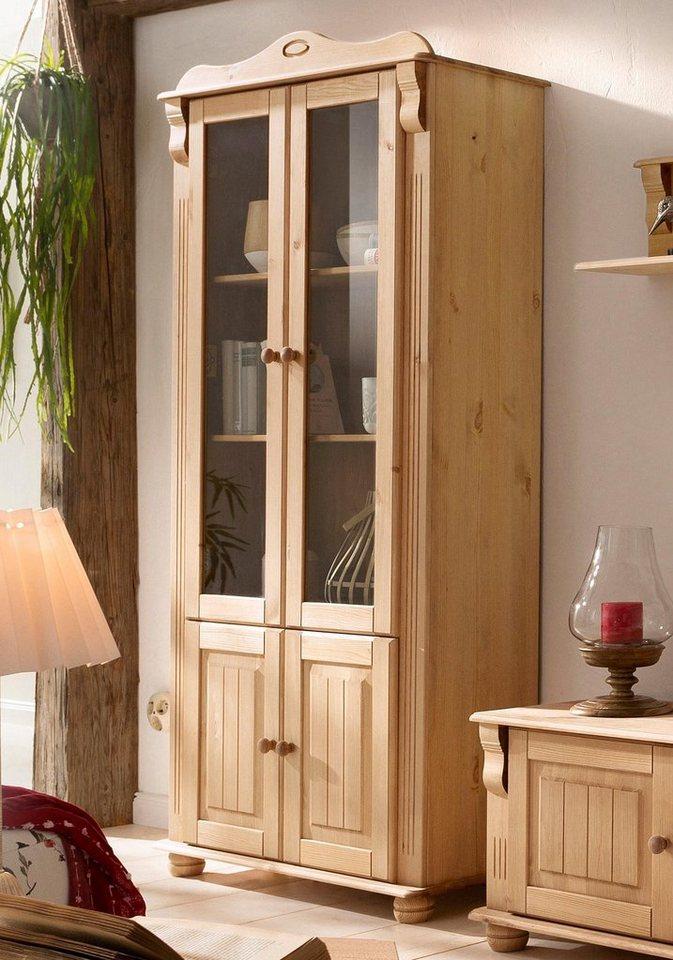 vitrinenschrank online kaufen otto. Black Bedroom Furniture Sets. Home Design Ideas