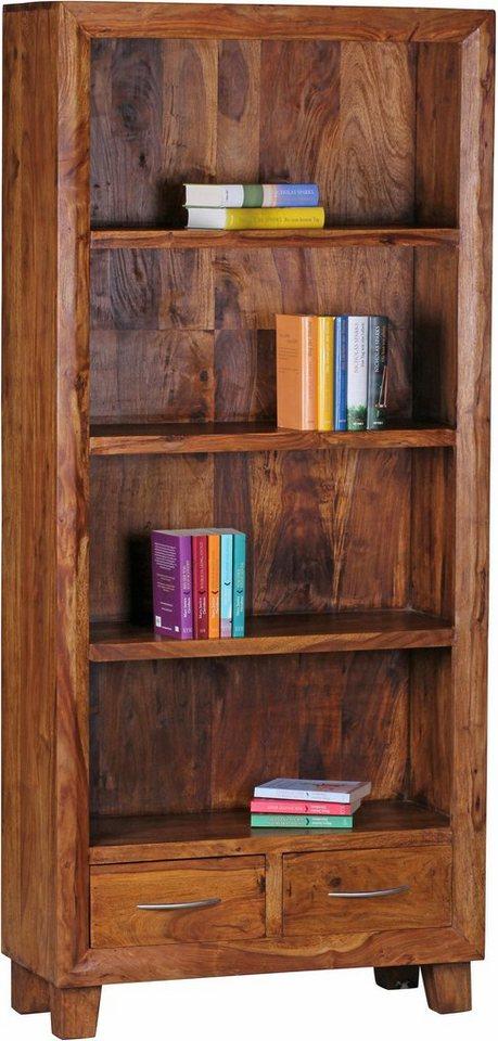 Home affaire Bücherregal »Malati«, 80 cm breit in braun