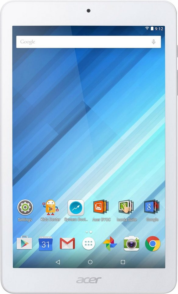 Acer Iconia One 8 Tablet-PC, Android 5.1, 20,3 cm (8 Zoll), 1024 MBDDR3L RAM in weiß