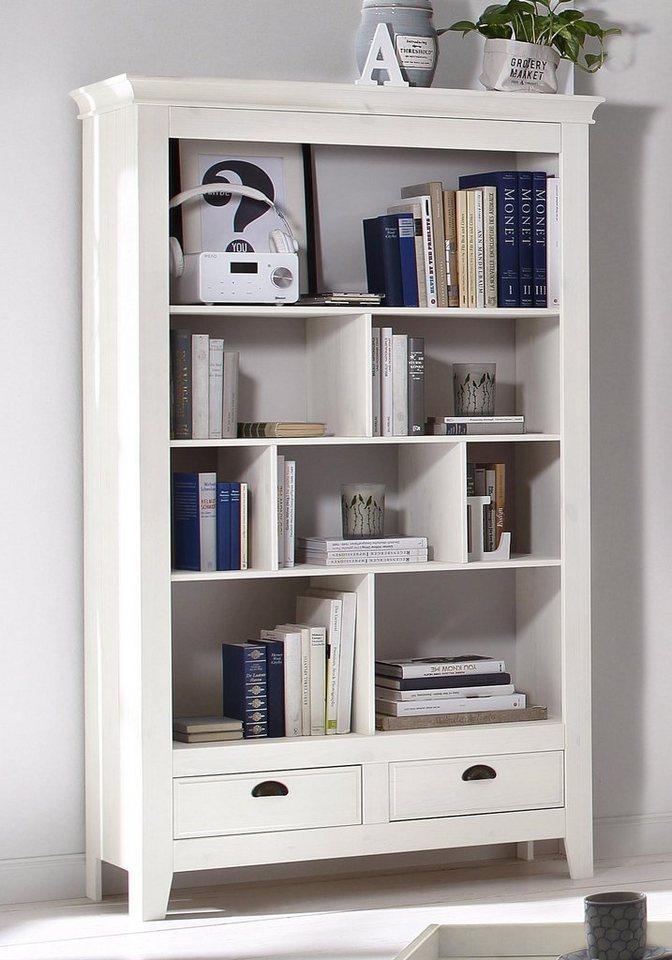 Home affaire Bücherregal »Romy«, Höhe 180 cm. in weiß