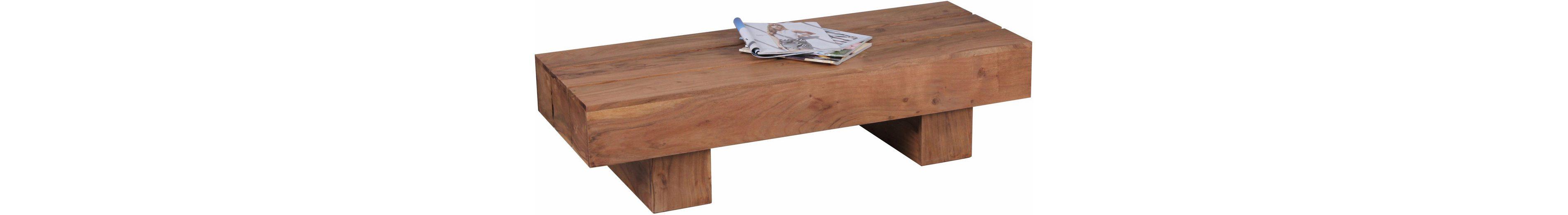 Home affaire Couchtisch »Geta«, aus massivem Akazienholz