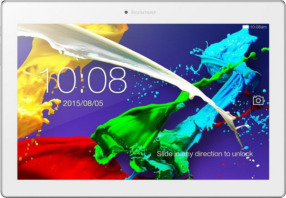 Lenovo Tab 2 A10-70F Tablet-PC, Android 4.4 (KitKat), Quad-Core, 25,6 cm (10,1 Zoll) in weiß