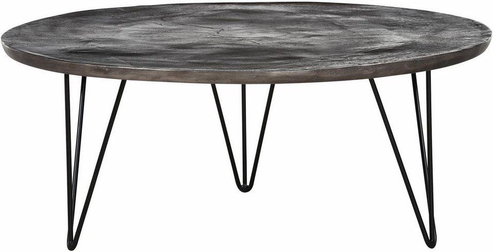gutmann factory couchtisch mit runder tischplatte aus aluminium online kaufen otto. Black Bedroom Furniture Sets. Home Design Ideas