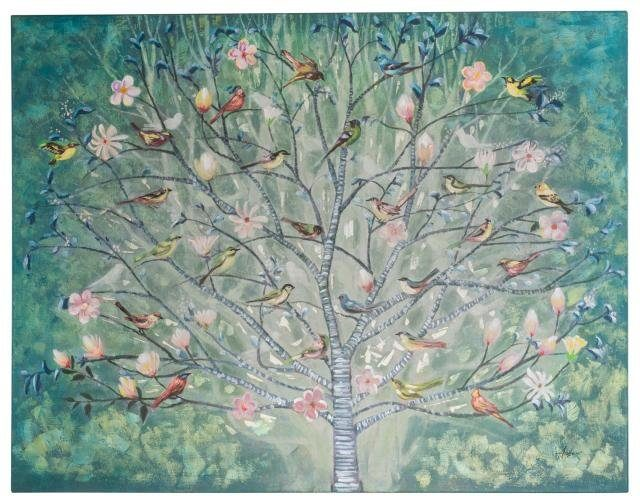 Home affaire Bild »Tree« Acyl auf Leinwand, 120/90 cm