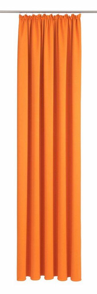 Vorhang, Wirth, »Dim out« (1 Stück) in orange