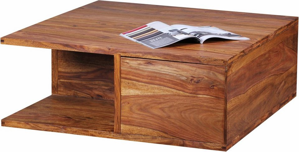Home affaire Couchtisch »Varg« mit 1 großen Schublade in braun