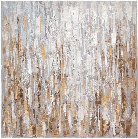 Home affaire Bild »Split«, 80/80 cm in braun