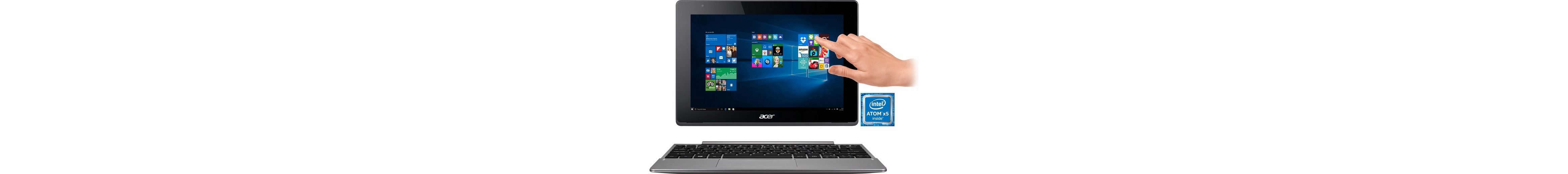 Acer Aspire Switch 10V Convertible Notebook, Intel® Atom™, 25,6 cm (10,1 Zoll), 32 GB Speicher