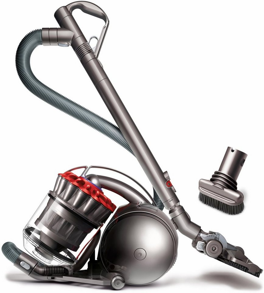 dyson staubsauger dc33c stubborn beutellos 750 watt rot. Black Bedroom Furniture Sets. Home Design Ideas