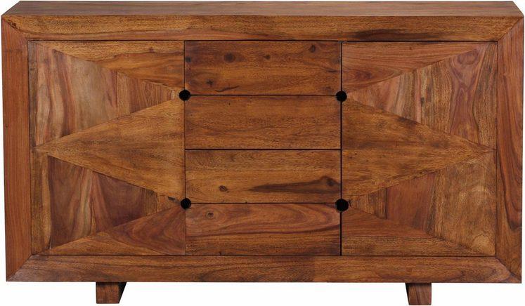 home affaire sideboard sumantra 145 cm breit otto. Black Bedroom Furniture Sets. Home Design Ideas