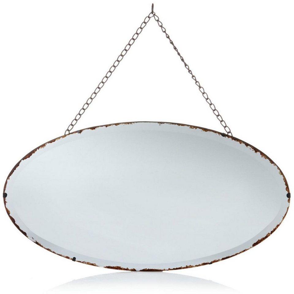 Home Affaire Spiegel mit Kettenaufhängung in braun