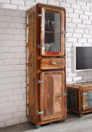 SIT Vitrine »Fridge« Höhe 190 cm, mit Kühlschrankgriffen