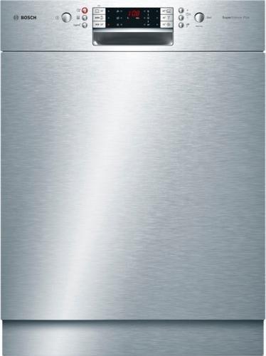 BOSCH Geschirrspüler SMU69P55EU, A+++, 9,5 Liter, 14 Maßgedecke in silberfarben