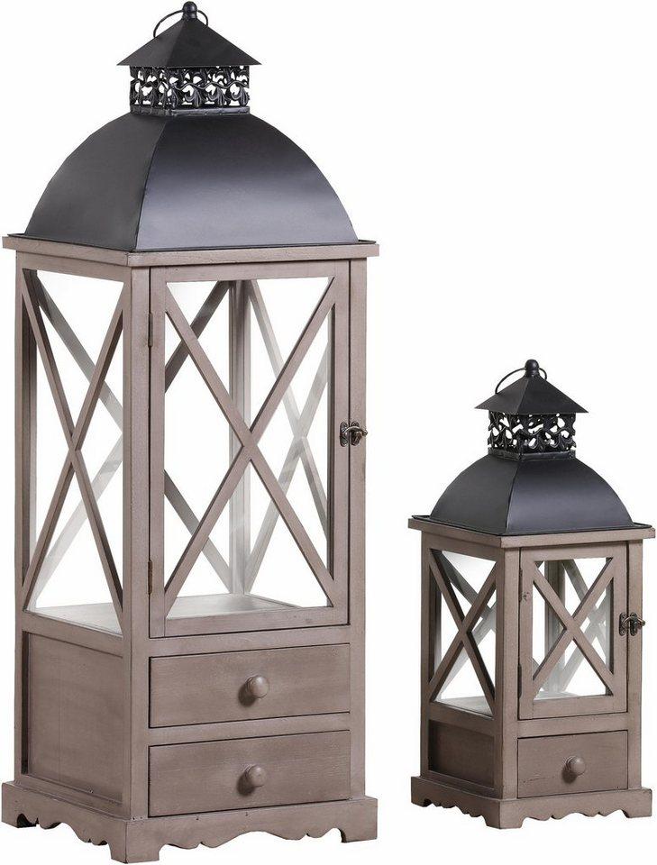gutmann factory laternen im 2er set xxl format 102 cm. Black Bedroom Furniture Sets. Home Design Ideas